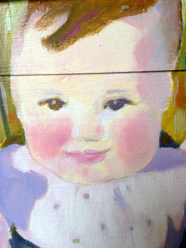1st Year Baby Memorabilia Box, Detail