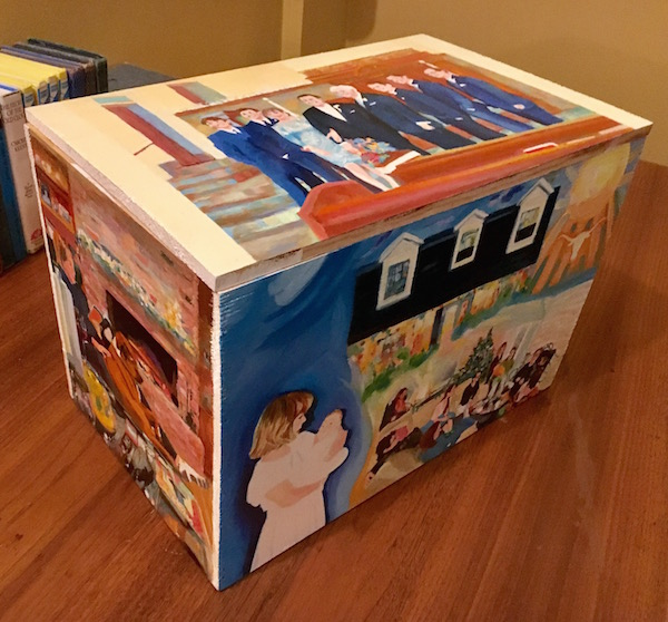 Memorabilia box by Paddy Hurley