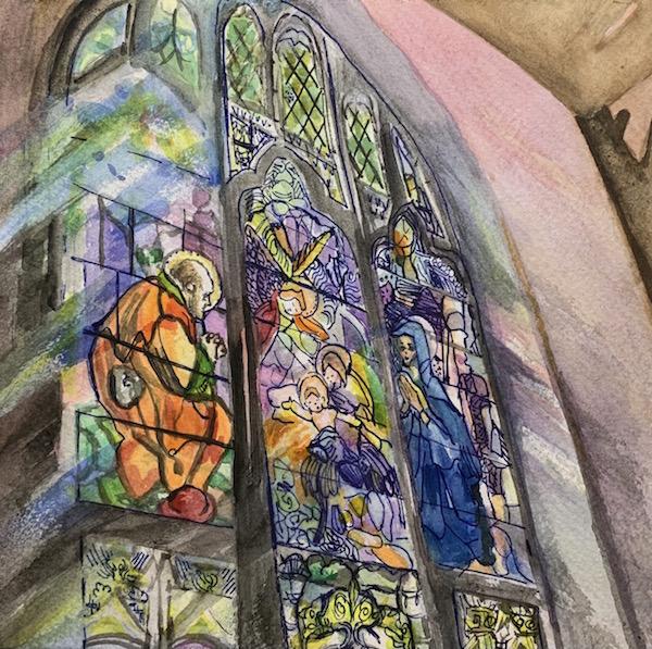 St. Joseph's Church Window