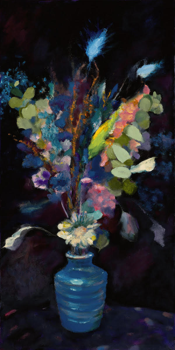 Blue Blooms by Paddy Hurley